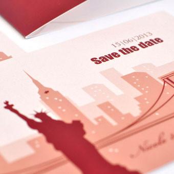 { Empire State Building - Hochzeitskarten }