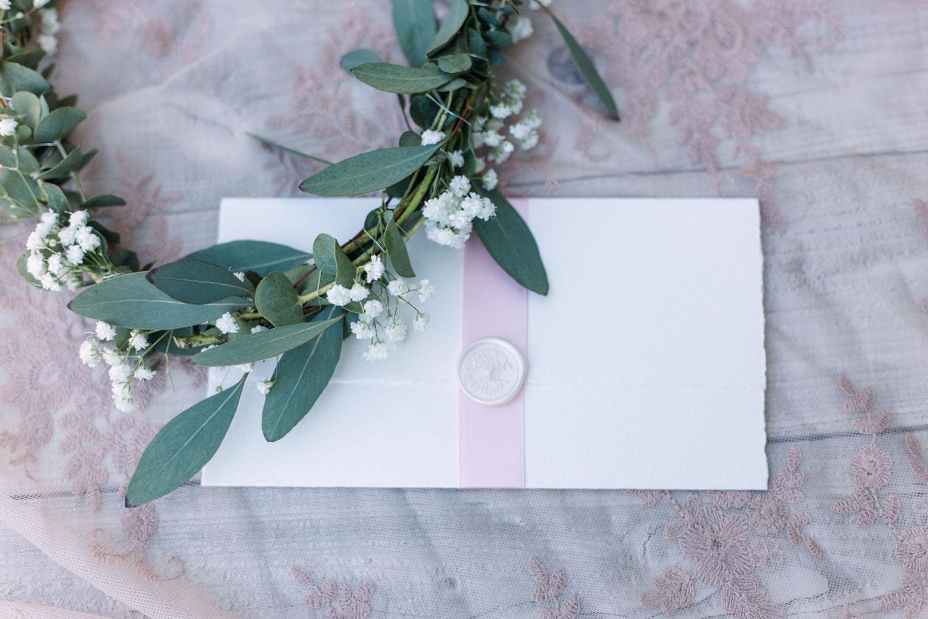 Liebesbrief Kalligrafie Briefumschlag