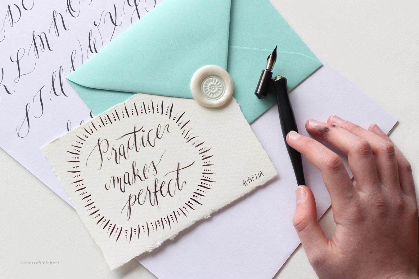 Moderne Kalligrafie Workshop