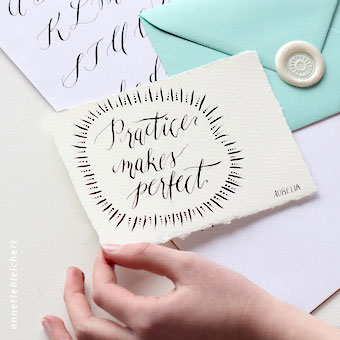 { Moderne Kalligrafie - Mini Workshop }