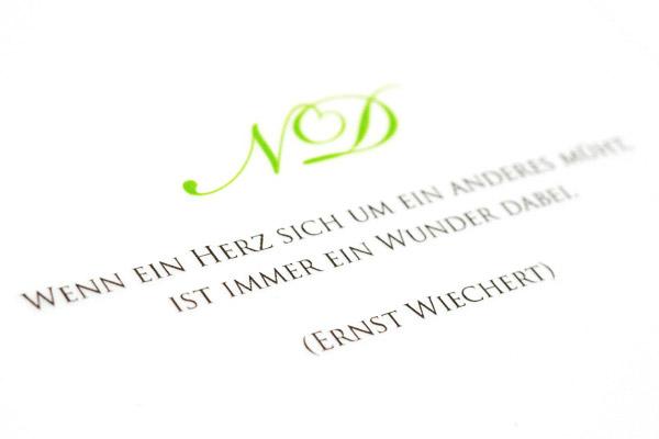 { Nadine & Domenico: Herz Monogramm }