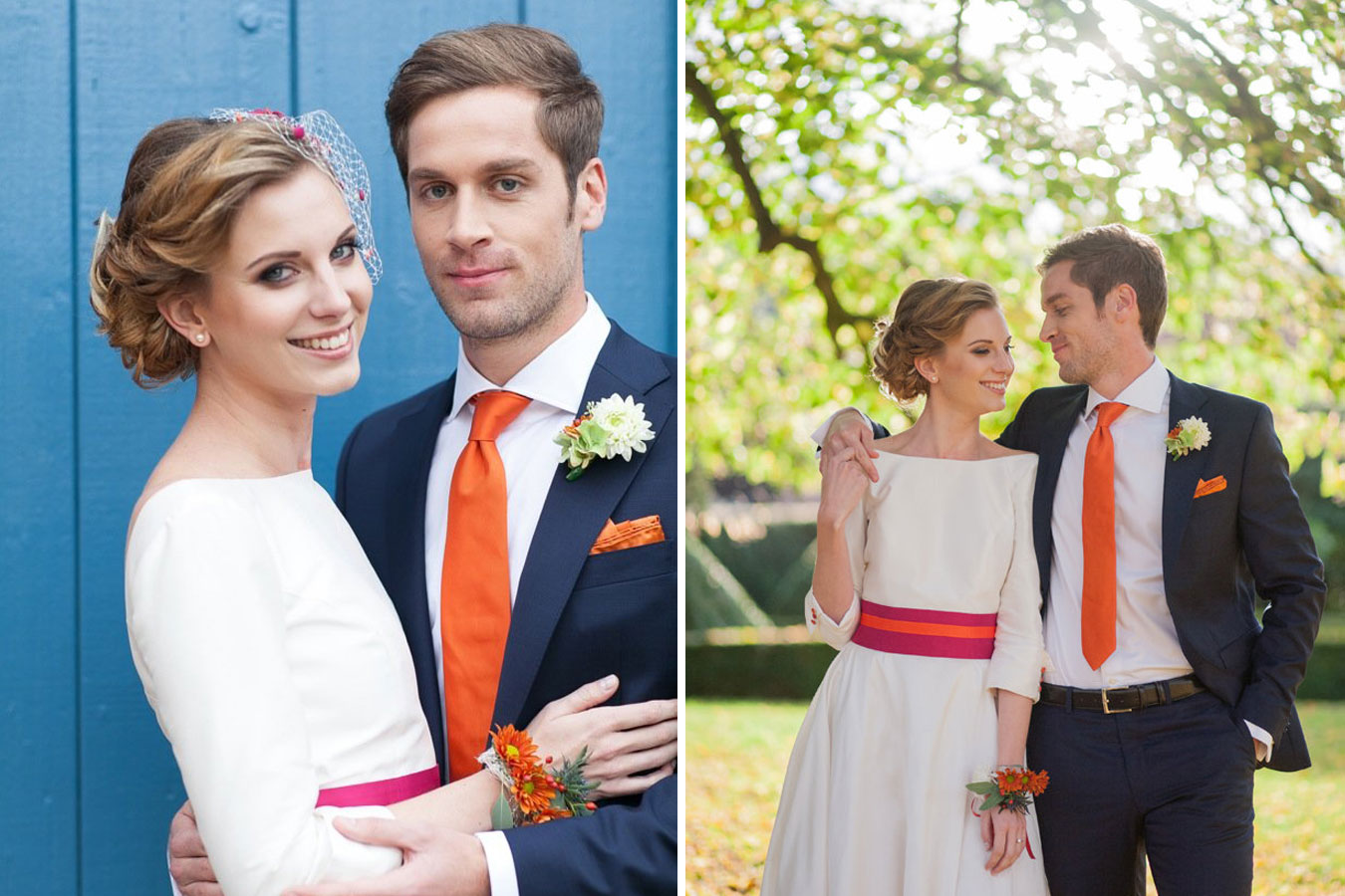 Herbstliches Styled Shoot Fall in Love Brautpaar