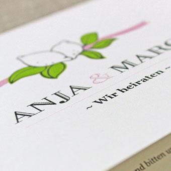 { Anja & Marc - Mallorca Hochzeitspapeterie }