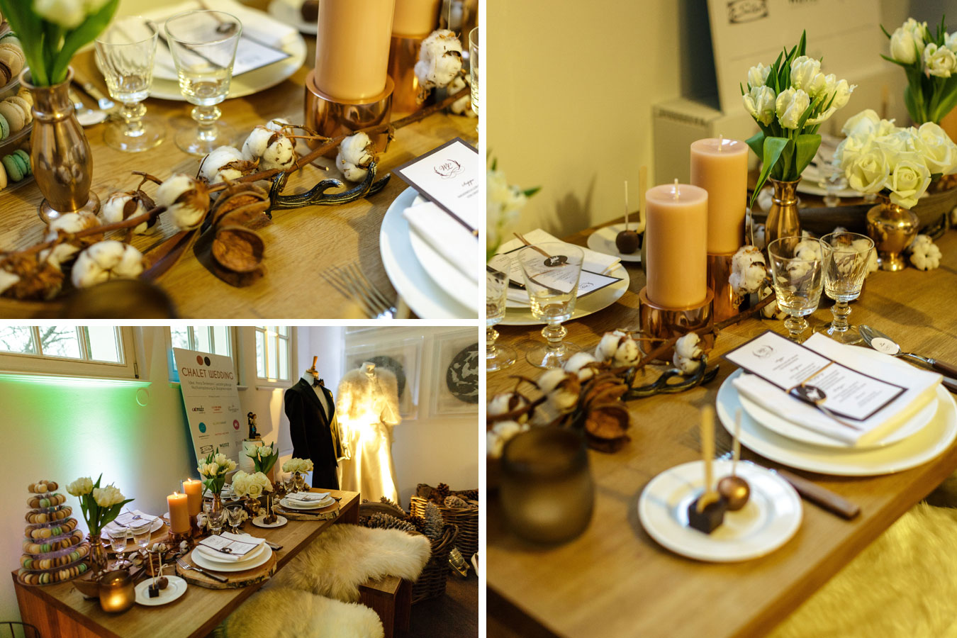 Chalet Wedding Trendtafel Love Hamburg