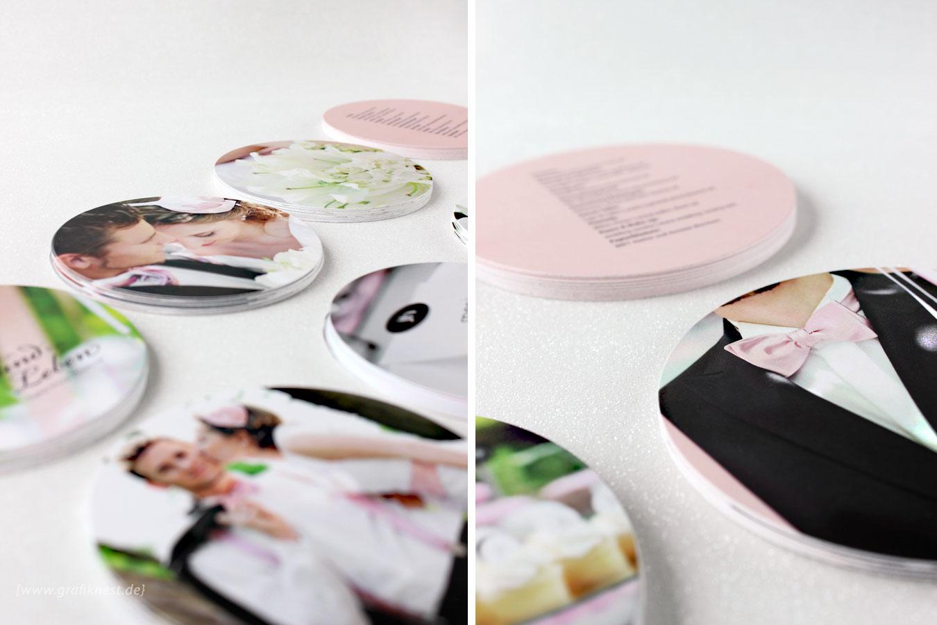 CD Booklet Design rund