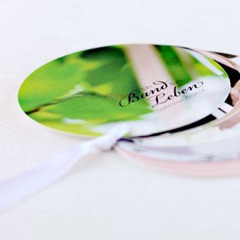 { CD Booklet Design rund - Styled Shoot Band fürs Leben }