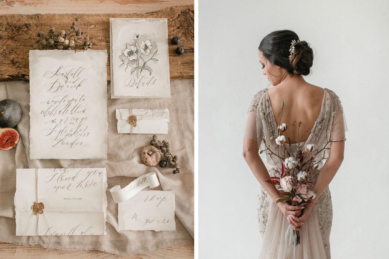 Fine Art Hochzeitspapeterie