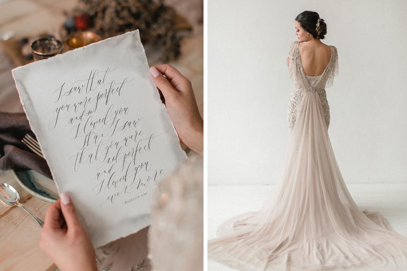Kalligrafie Liebeszitat