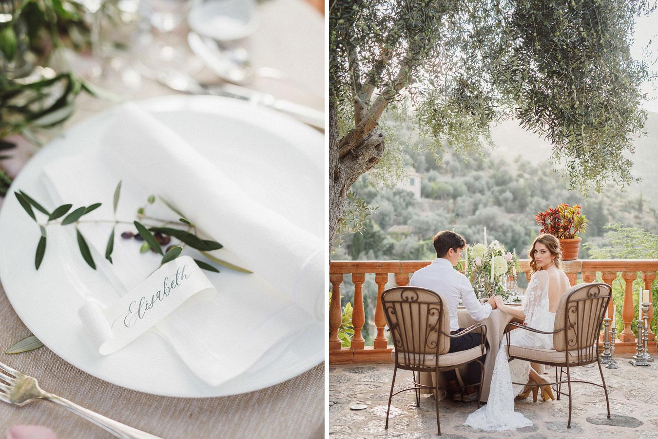 Hochzeitsmenue Mallorca